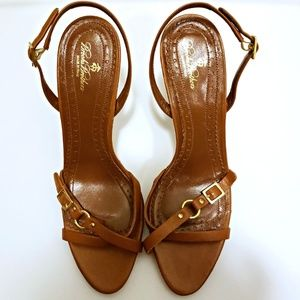 Brooks Brothers Italian Made Leather Heels